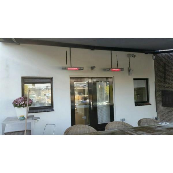Fabulous Low Glare infrarood terrasverwarming 2000 watt met afstandsbediening LQ57