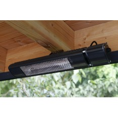 Terrasheater, ULTRA LOW GLARE RAL  7016,1500 watt RC 3 standen